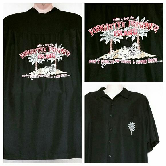 Weekender Other - *SALE*Men's Forgotten Prisoner Island Shirt Sze XL